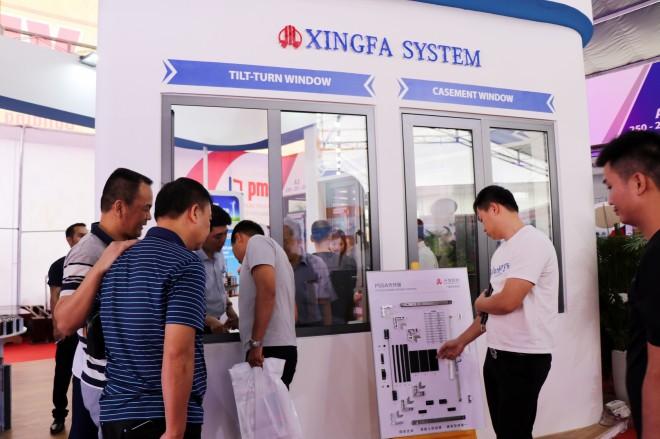 Nhôm Xingfa Quảng Đông tiếp tục ghi điểm cao tại Triển lãm quốc tế Vietbuild Hà Nội 2019 - Ảnh 5