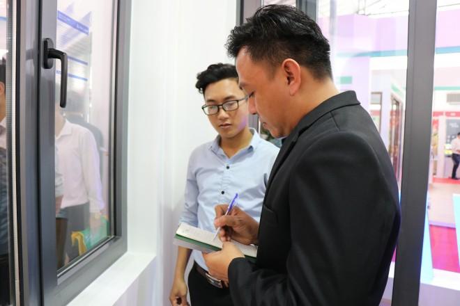 Nhôm Xingfa Quảng Đông tiếp tục ghi điểm cao tại Triển lãm quốc tế Vietbuild Hà Nội 2019 - Ảnh 7