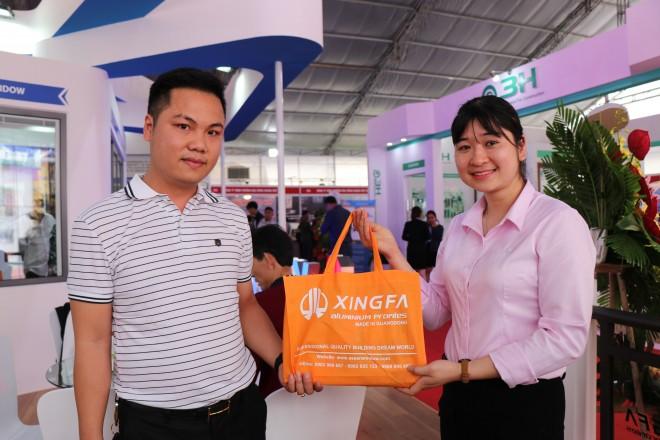 Nhôm Xingfa Quảng Đông tiếp tục ghi điểm cao tại Triển lãm quốc tế Vietbuild Hà Nội 2019 - Ảnh 10