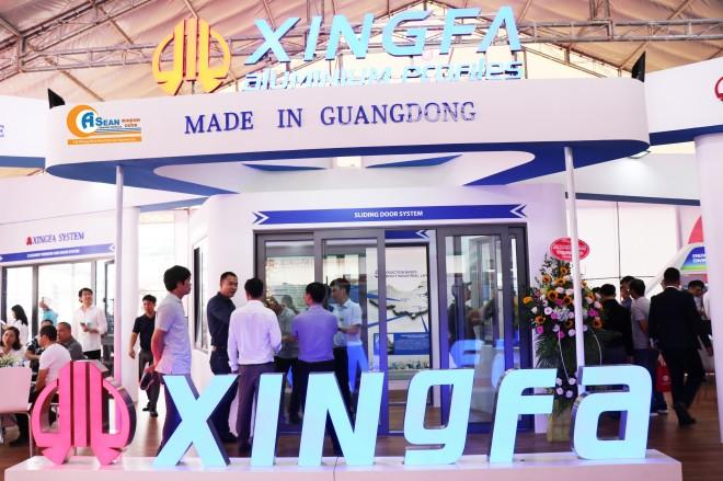 Nhôm Xingfa Quảng Đông tiếp tục ghi điểm cao tại Triển lãm quốc tế Vietbuild Hà Nội 2019 - Ảnh 1