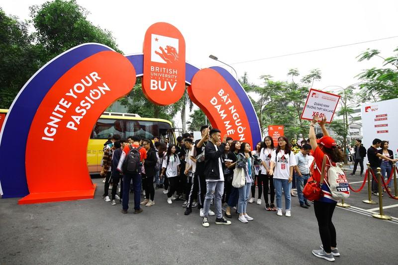 Ngày hội Tuyển sinh BUV Open Day - Bật nguồn đam mê