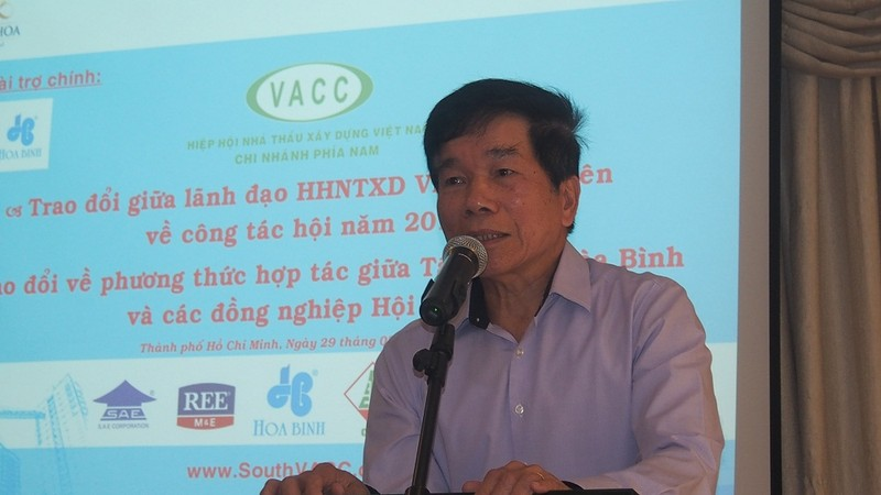 Hiệp hội nhà thầu xây dựng Việt Nam bàn chuyện vươn ra thị trường quốc tế