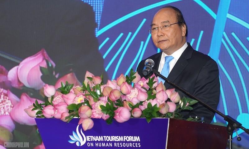 Thủ tướng phát biểu tại Diễn đàn. Ảnh: VGP/Quang Hiếu