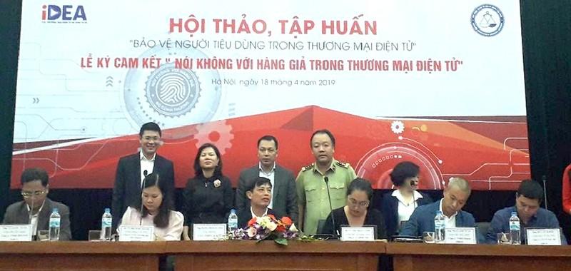 """5 sàn TMĐT lớn nhất Việt Nam ký cam kết """"Nói không với hàng giả"""""""
