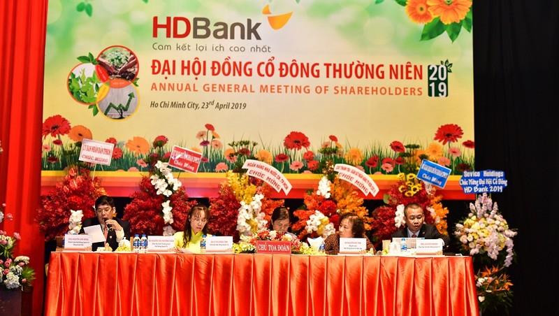 HDBank đặt mục tiêu lợi nhuận trước thuế hơn 5.000 tỷ đồng năm 2019