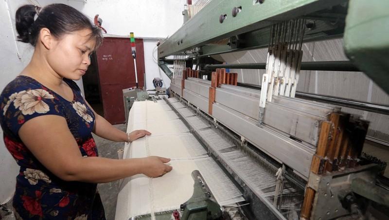 Nhiều hộ vay vốn chính sách ưu đãi ở Thái Bình đã thoát nghèo bền vững, vươn lên làm giàu chính đáng. Ảnh: Trần Việt
