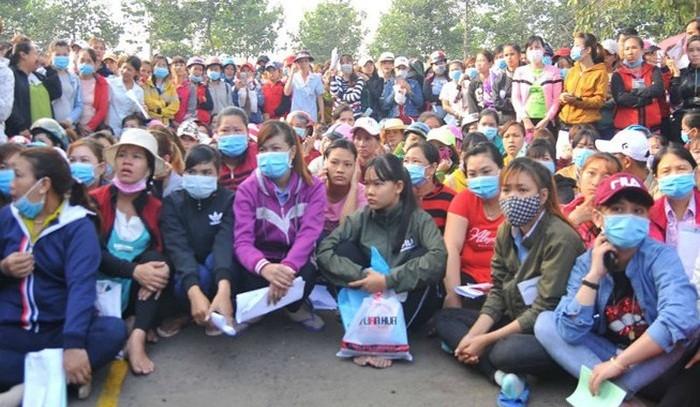 Nhiều công nhân Công ty TNHH KL Texwell Vina (Đồng Nai) bị nợ lương, BHXH