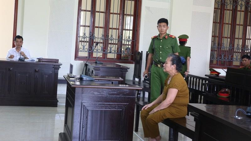Bị cáo Nguyễn Thị Thảo tại phiên tòa phúc thẩm