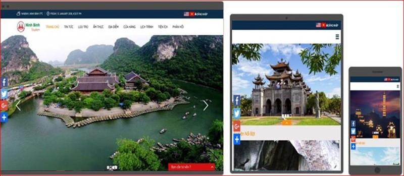 Cổng du lịch thông minh Ninh Bình