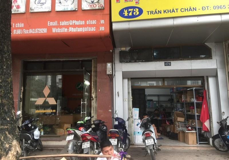 Nhà đất số 471 và 473 Trần Khát Chân
