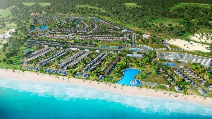 Phối cảnh dự án đại đô thị NovaWorld Hồ Tràm