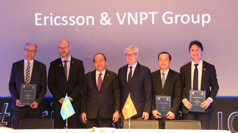 VNPT và Ericsson hợp tác đẩy mạnh phát triển công nghệ Internet vạn vật