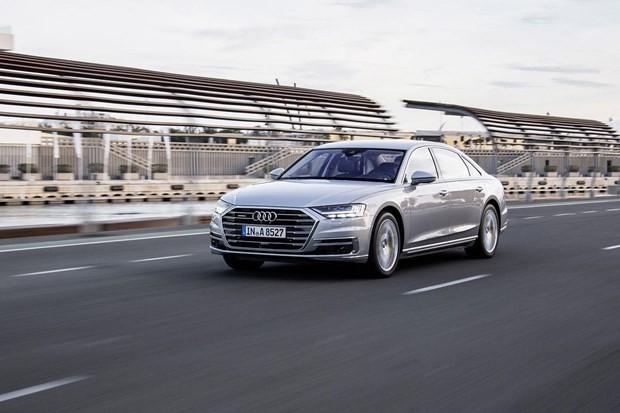 Một chiếc Audi A8 đời 2018. (Ảnh: The Verge)