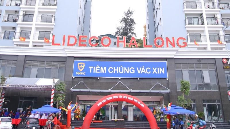 Khai trương Trung tâm tiêm chùng VNVC Hạ Long
