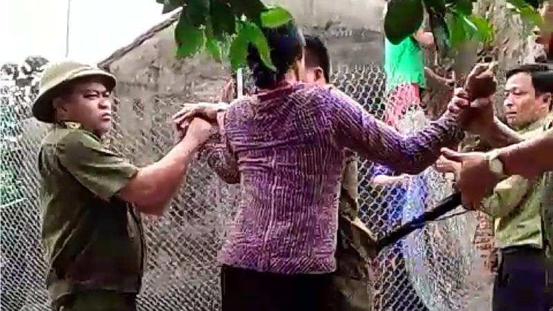 Cuộc 'cưỡng chế' gây bất bình ở xã Đội Bình, huyện Ứng Hòa (Hà Nội)