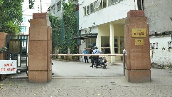 Trụ sở Bộ Xây dựng, nơi công tác của Đoàn Thanh tra vừa bị Công an Vĩnh Phúc lập biên bản