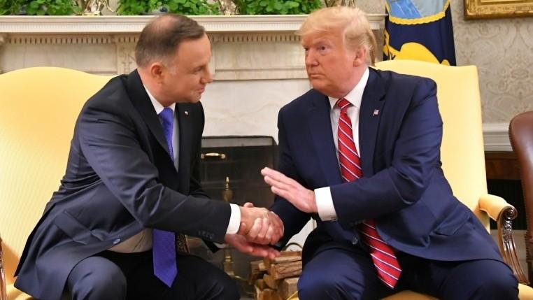 Tổng thống Mỹ và người đồng cấp Ba Lan Duda