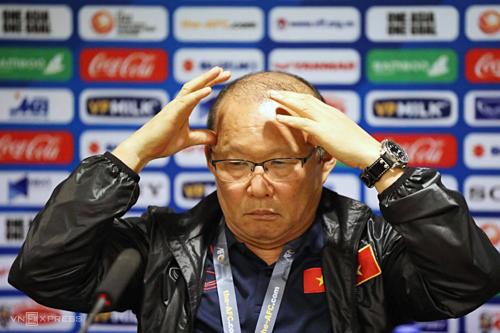 Ông Park và VFF sẽ bắt đầu đàm phán về hợp đồng mới vào tuần sau. Ảnh: Ngọc Thành.