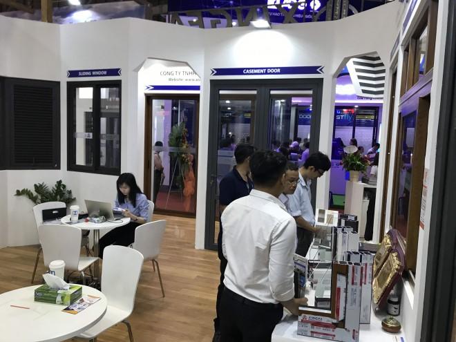 Aseanwindow tiếp tục gây ấn tượng tại triển lãm Vietbuild 2019 - Ảnh 1