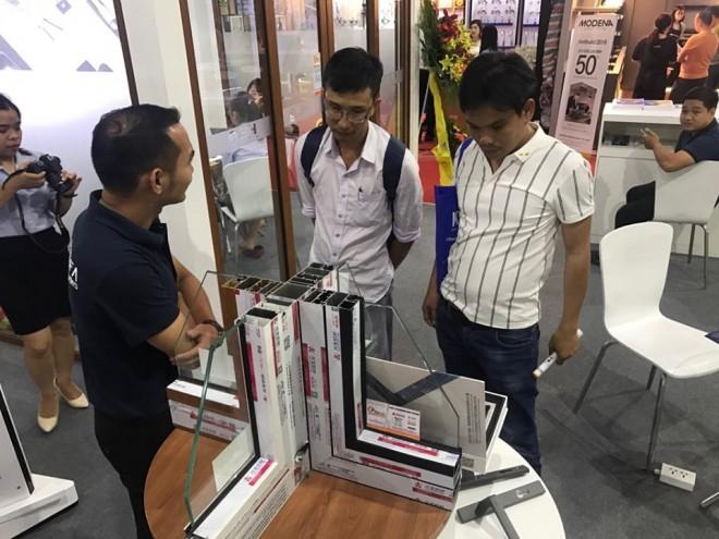 Aseanwindow tiếp tục gây ấn tượng tại triển lãm Vietbuild 2019 - Ảnh 4