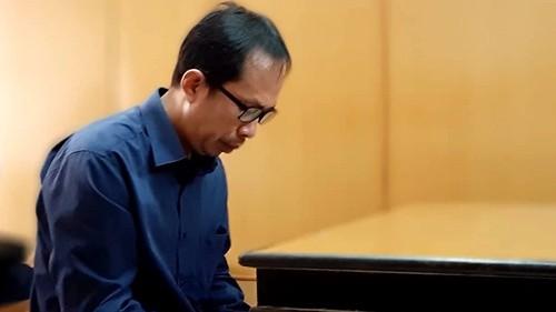 Bị cáo Huỳnh Tấn Luật. Ảnh Hải Duyên/VnExpress