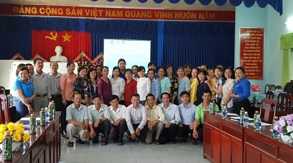 Tập huấn cho giáo viên và tổ chức lớp học cho học sinh tại Lạng Sơn, Quảng Nam và Bến Tre