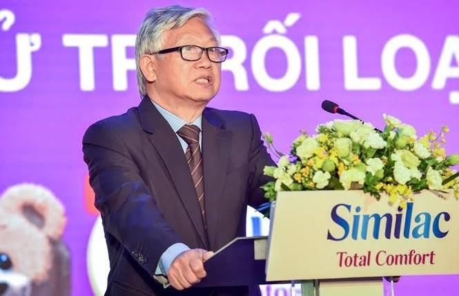 GS. Nguyễn Gia Khánh đề cập triệu chứng rối loạn tiêu hóa thường gặp ở trẻ em Việt Nam và nhấn mạnh dinh dưỡng là giải pháp tối ưu giúp xử lý vấn đề này