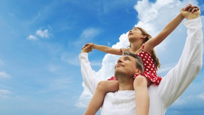 Con gái và cha (Hình minh họa)