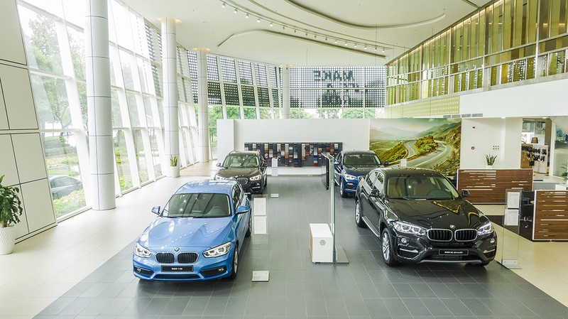 THACO khai trương tổ hợp showroom 3 thương hiệu BMW-MINI-BMW MOTORRAD tại TP HCM