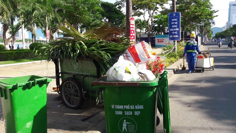 Rác thải ùn ứ trong nội đô TP Đà Nẵng