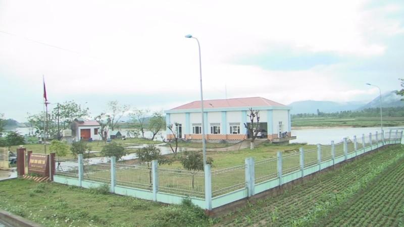 Nhà máy cấp nước thô của Công ty TNHH MTV cấp nước Sông Lam