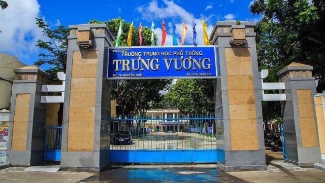 Trường PTTH Trưng Vương – Bình Định. Ảnh: Đặng Hiếu Nhân