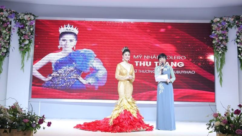 """Ca sĩ Thu Trang: """"Tôi sẽ chung thủy với Bolero đến hết cuộc đời"""""""