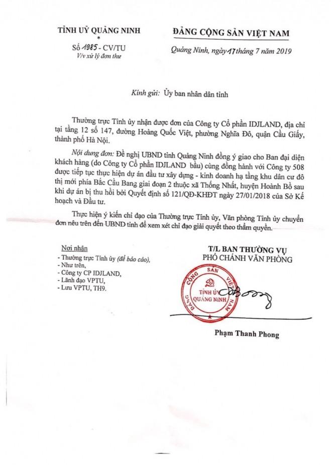 Chấm dứt dự án Bắc Cầu Bang giai đoạn 2: Hàng trăm nạn nhân mong lãnh đạo tỉnh Quảng Ninh cứu giúp - Ảnh 4