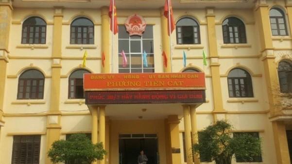 Trụ sở UBND phường Tiên Cát (TP Việt Trì, Phú Thọ)
