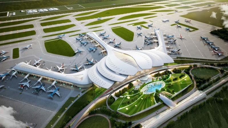 Dự án Cảng Hàng không quốc tế Long Thành thuộc dự án trọng điểm quốc gia nhưng mới giải ngân được 310 tỷ đồng (đạt 4,43%), trong khi kế hoạch giao là 6.990 tỷ đồng