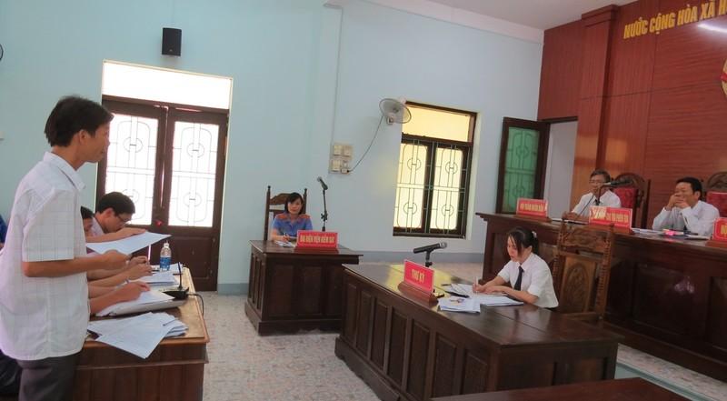 Một số ý kiến cho rằng TAND huyện Bố Trạch đã vi phạm pháp luật tố tụng trong vụ việc