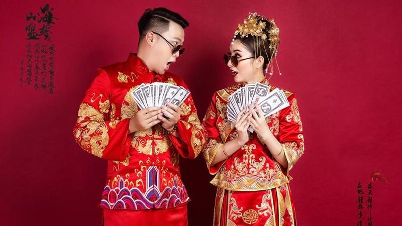 Trung Quốc mang 'thế giới' về các phim trường phục vụ ảnh cưới