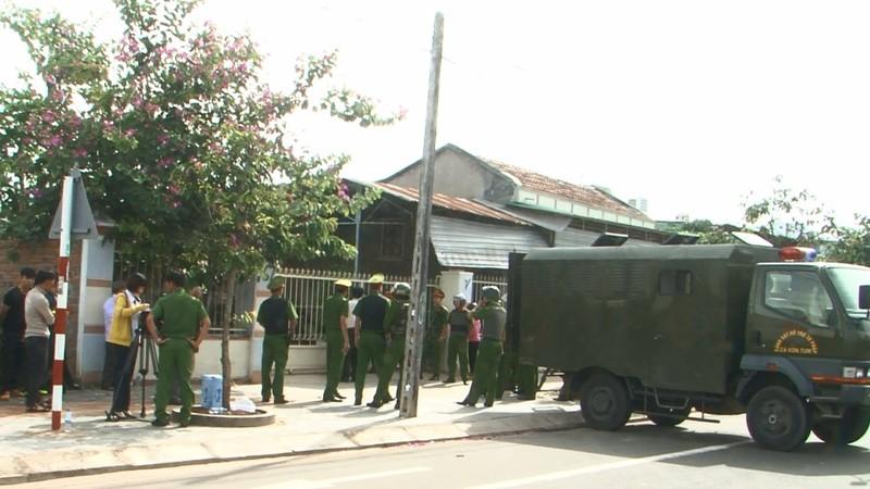 Một vụ cưỡng chế THADS ở Kon Tum