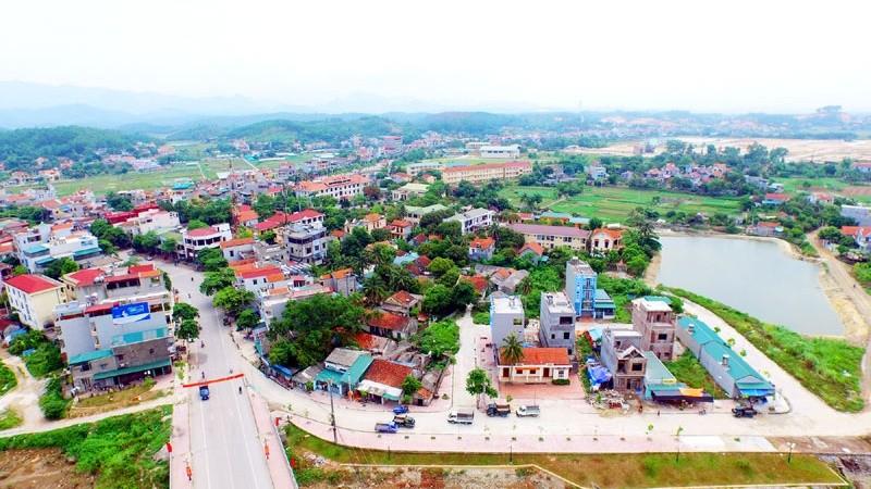 Một góc thị trấn Trới, Hoành Bồ, Quảng Ninh (Nguồn Internet)