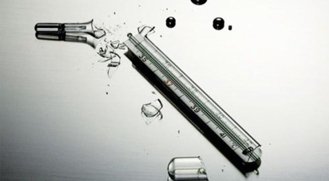 Cách xử lý khi làm vỡ cặp nhiệt độ thủy ngân