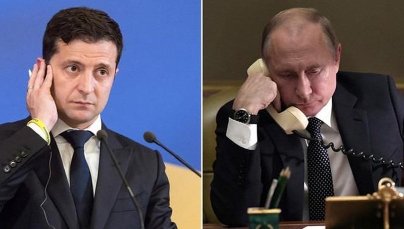 Tổng thống Nga Putin và người đồng cấp Ukraine đã có cuộc điện đàm ngay sau cuộc trao đổi tù nhân. (Ảnh minh họa)