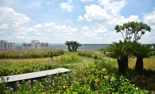 Khu vườn tiện ích và những giá trị nhân văn tại Imperia Sky Garden - Ảnh 1