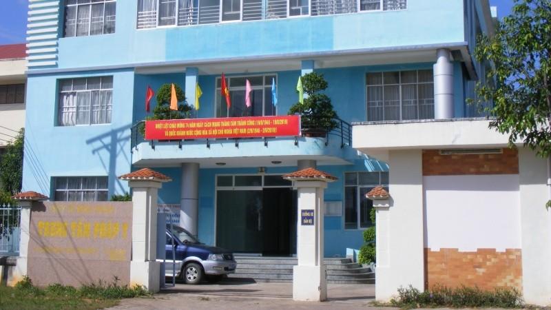 Trụ sở Trung tâm Giám định pháp y  tỉnh Bình Thuận