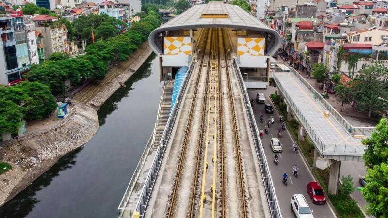 Dự án đường sắt Cát Linh- Hà Đông xây dựng nhiều năm chưa hoàn thành