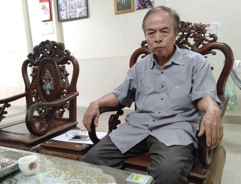Ông Nguyễn Trung Thắng  - Cựu Chủ tịch UBND xã  Canh Nậu