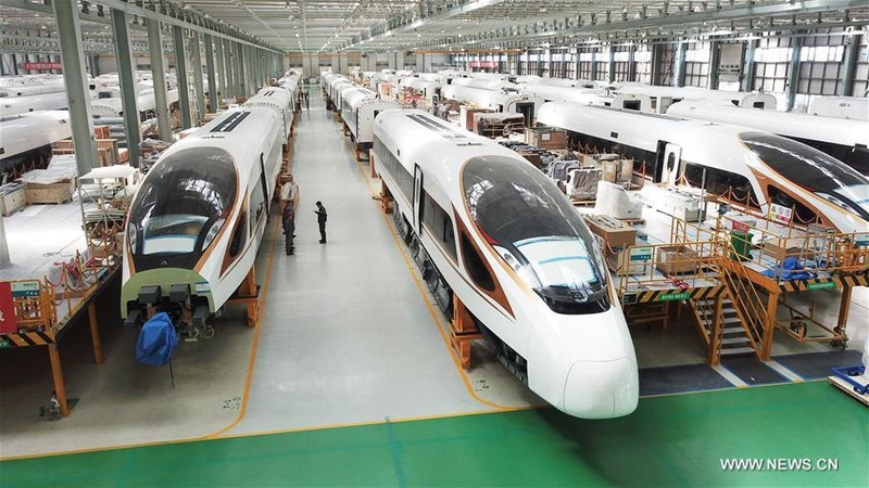 Trung Quốc đã chế tạo tàu cao tốc có tốc độ tối đa theo thiết kế lên tới 600km/h