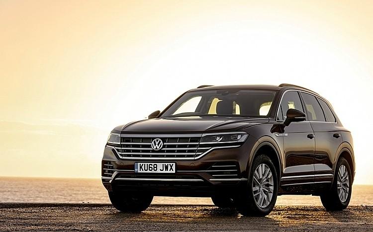 Volkswagen Touareg 2019 tại châu Âu. Ảnh: Driving