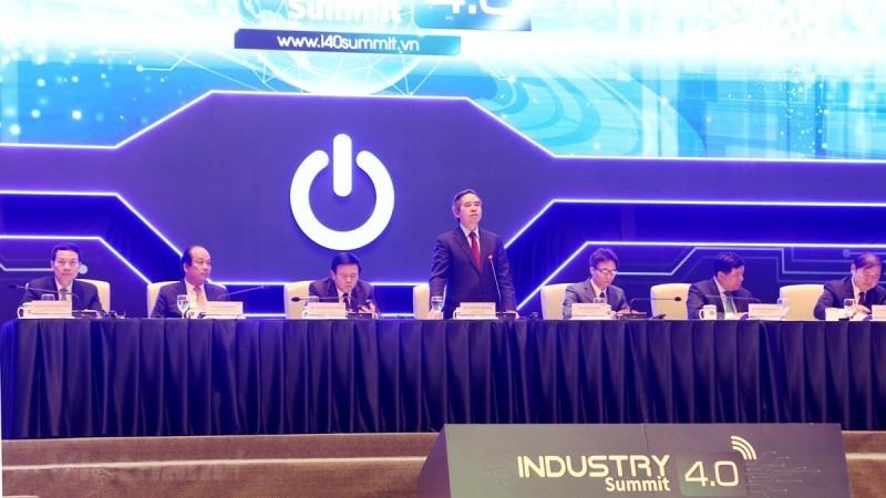 Diễn đàn cao cấp về công nghiệp 4.0: Chính phủ đi đầu, doanh nghiệp là hạt nhân