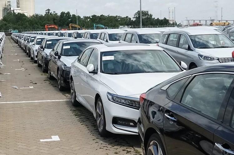 Honda Accord thế hệ mới cập cảng Sài Gòn, tháng 9/2019. Ảnh: Lâm Hải Quang